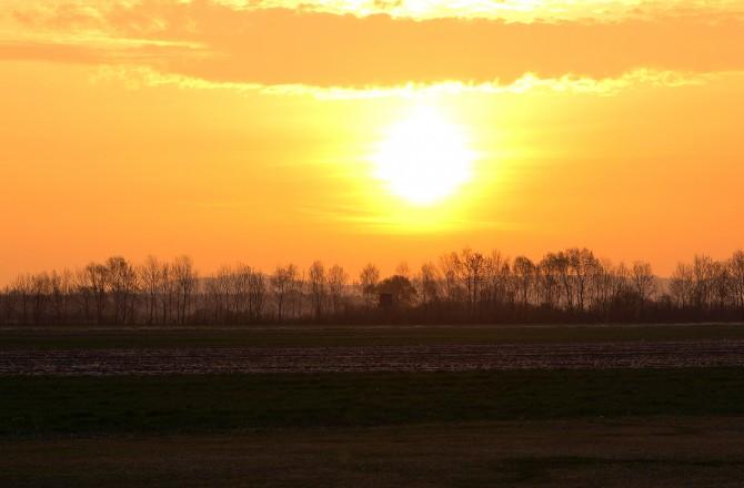 Sonnenaufgang in Pannonien