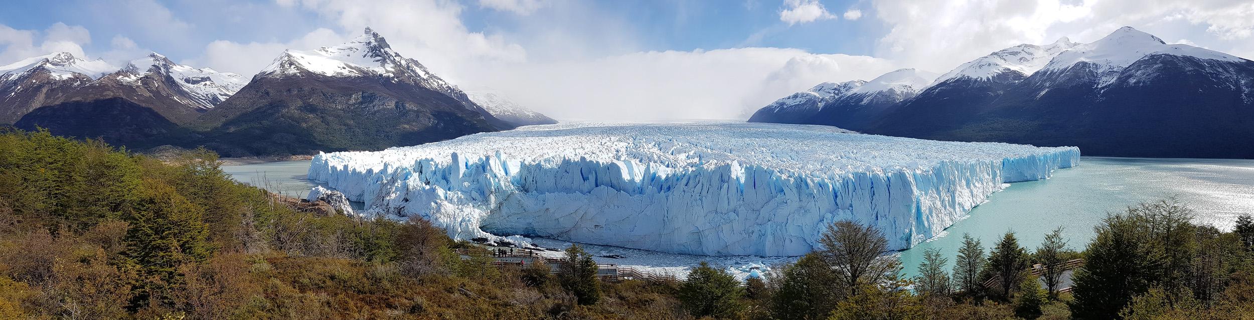 Der Perito Moreno in seiner ganzen Pracht