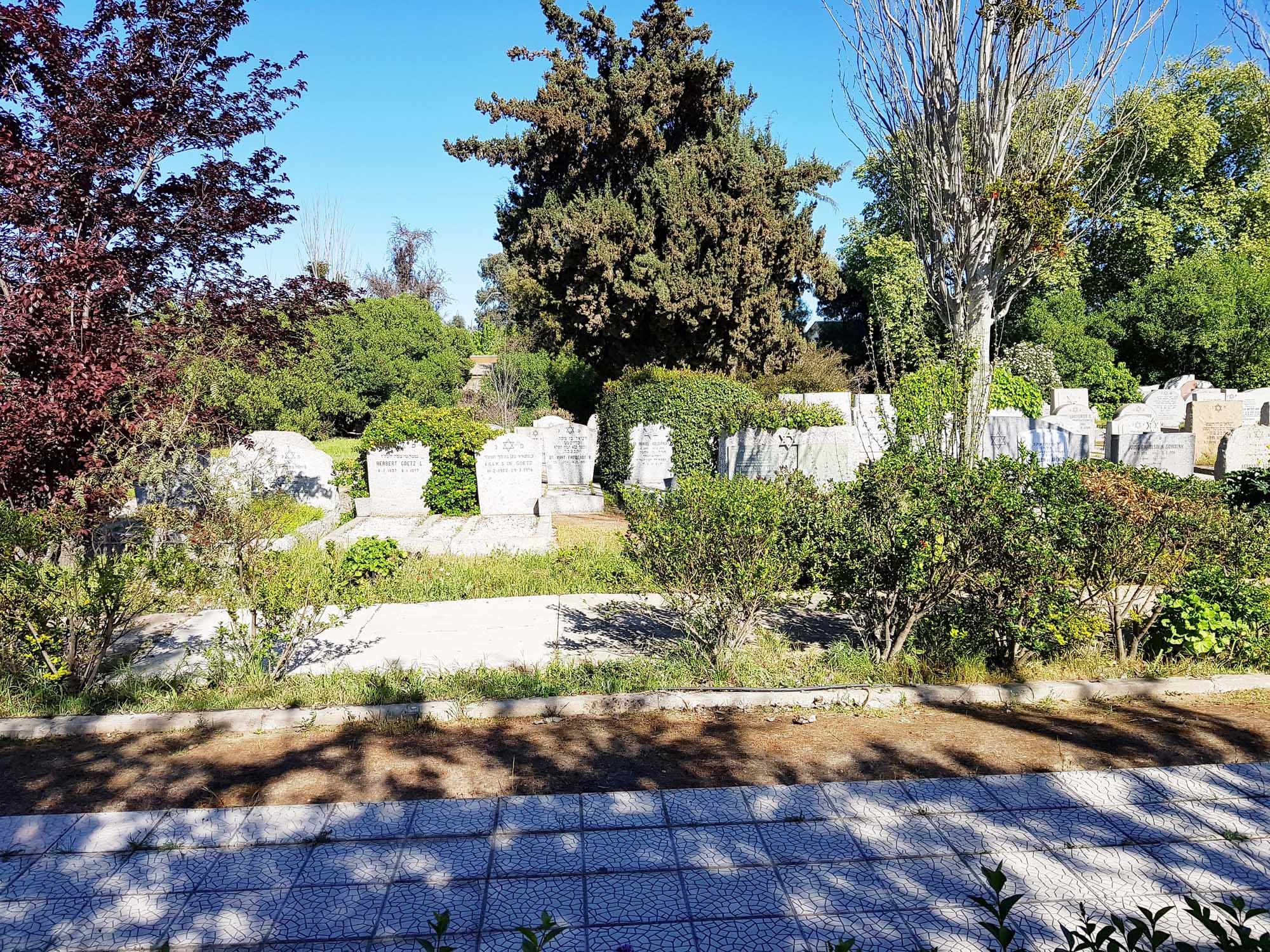 Wunderschön gepflegter jüdischer Friedhof von El Belloto