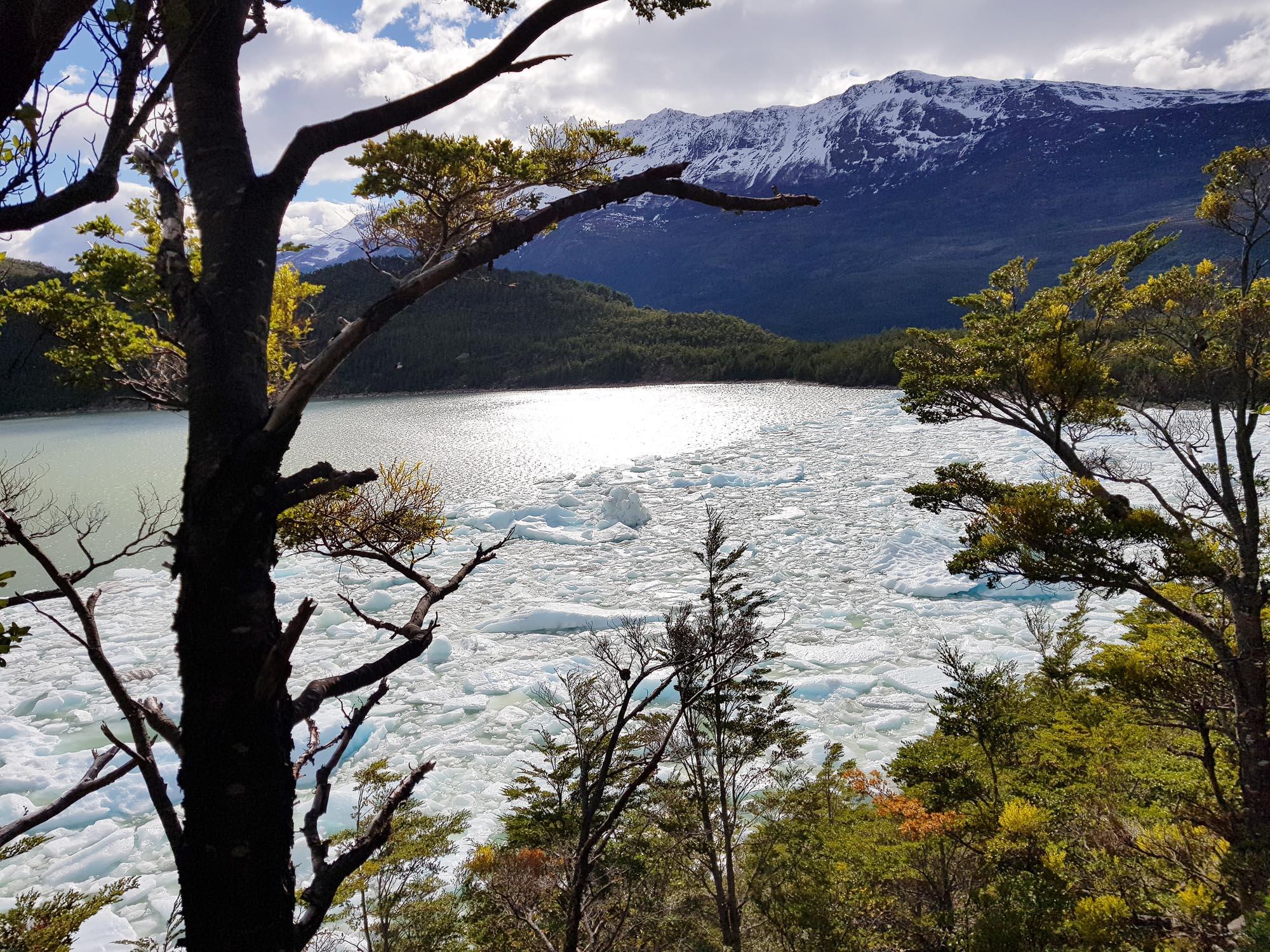 Am Fußweg zum Serrano-Gletscher