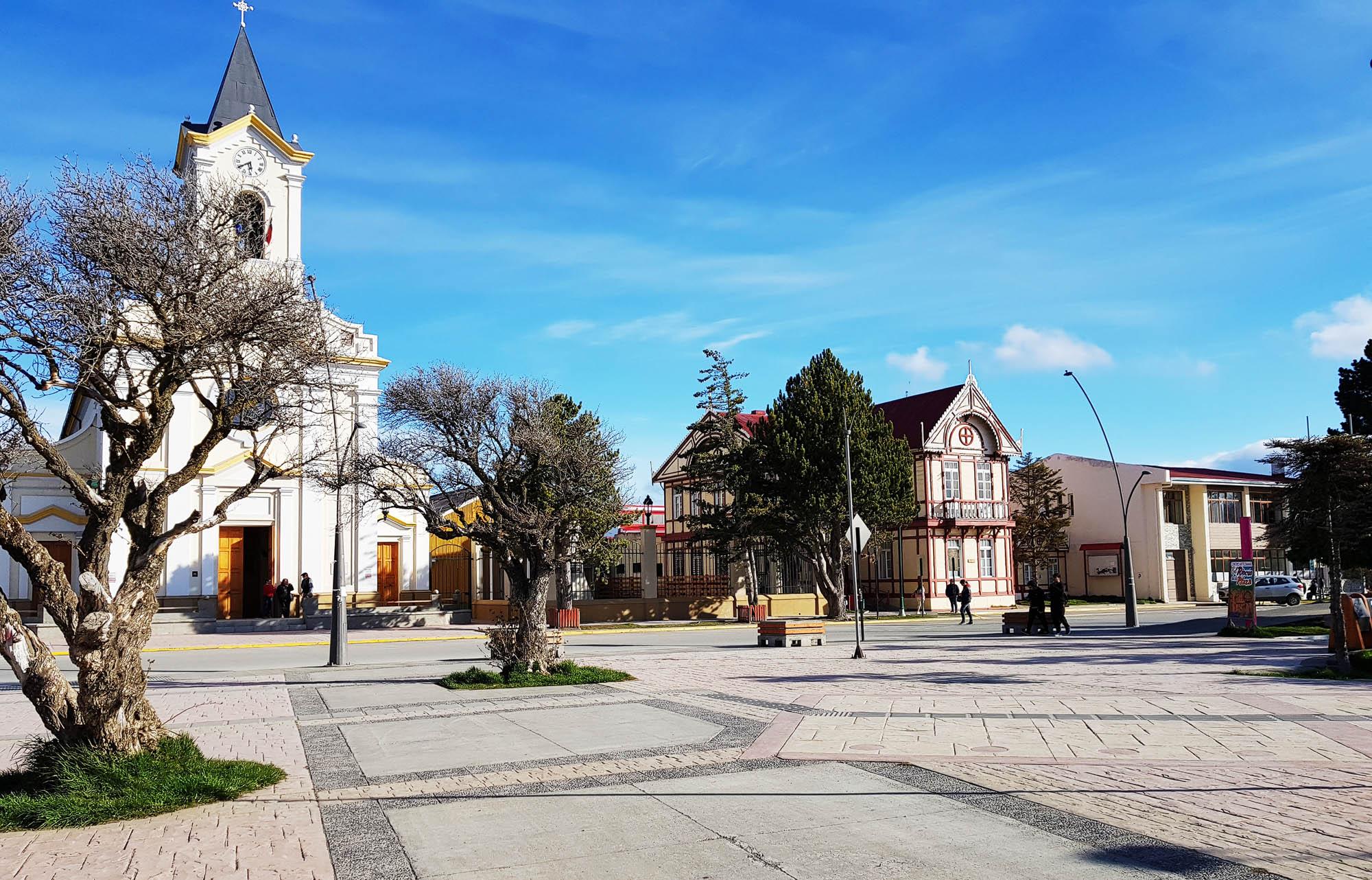 Ortszentrum von Puerto Natales