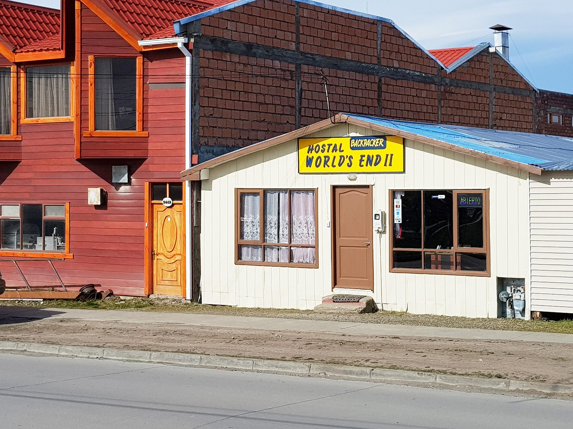 Ankunft in Puerto Natales: Ja, wir sind am Ende der Welt ;-)