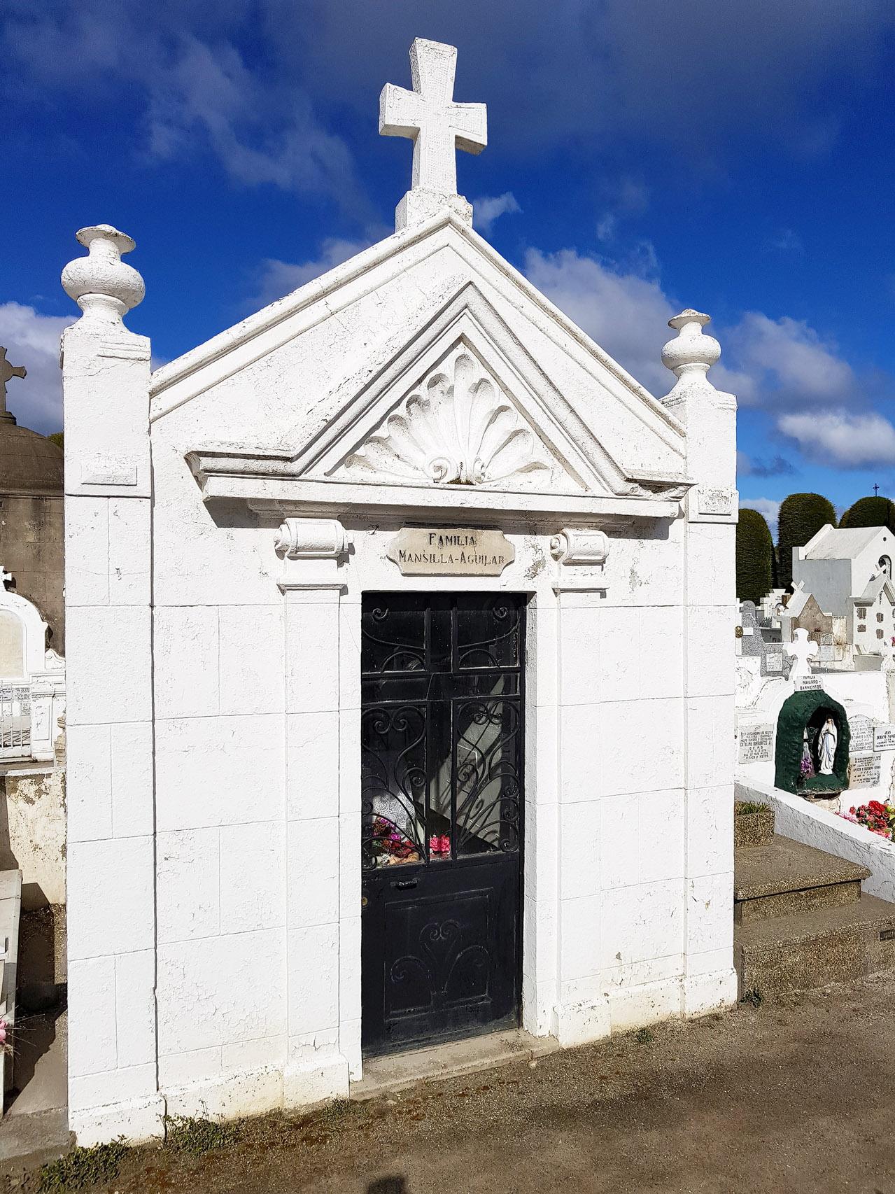 Friedhof in Punta Arenas, laut CNN einer der schönsten Friedhöfe der Welt