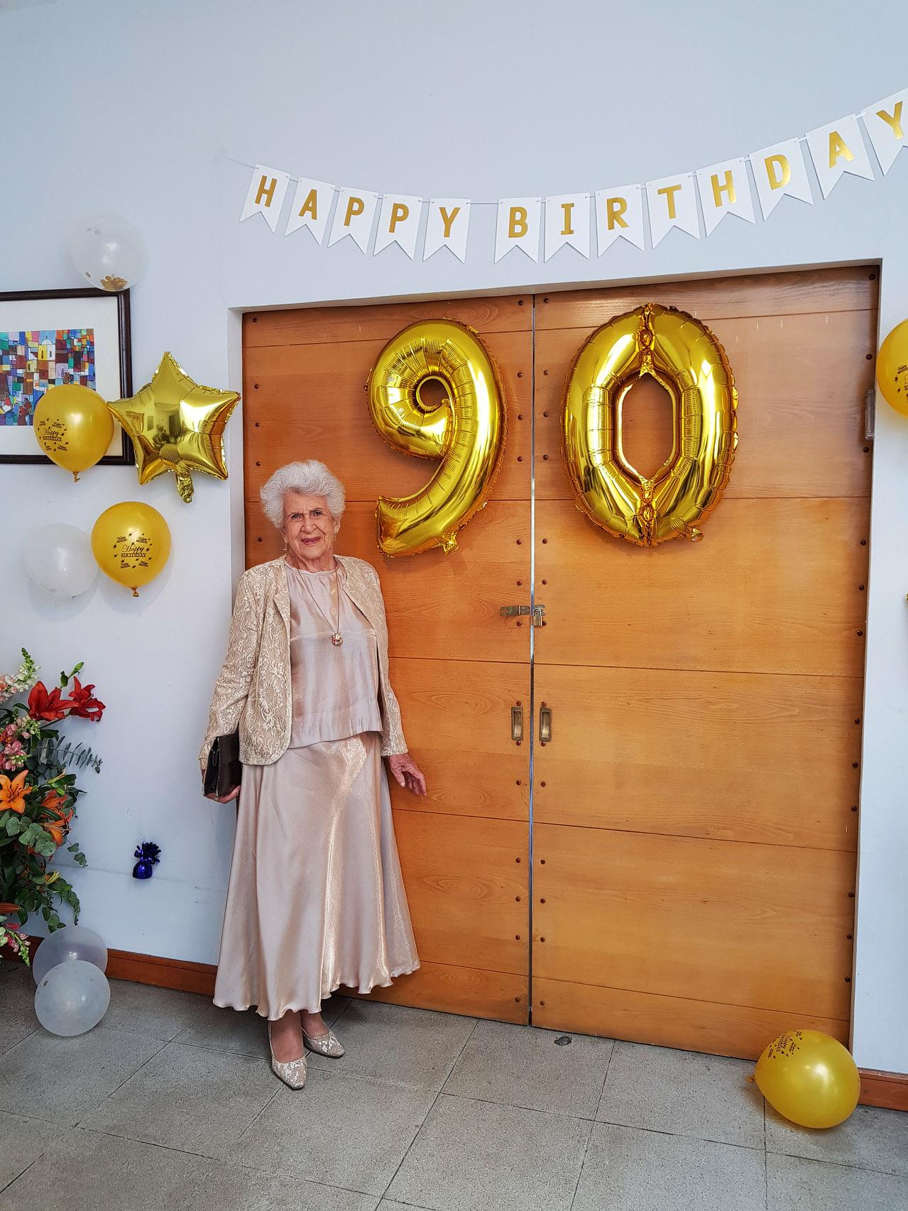 Dorrit Schloss - das Geburtstagskind bei ihrer Geburtstagsfeier - Happy Birthday Dorrit!