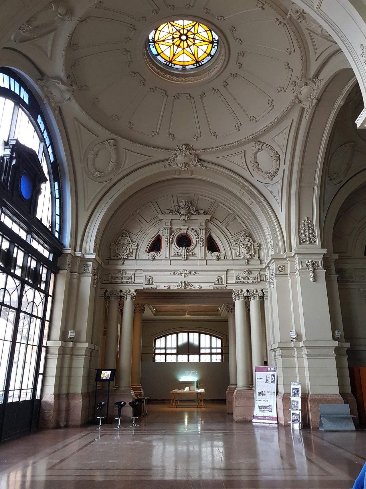 Estacion Mapocho, früherer Bahnhof in Santiago, heute Kulturzentrum und nationales Denkmal Chiles