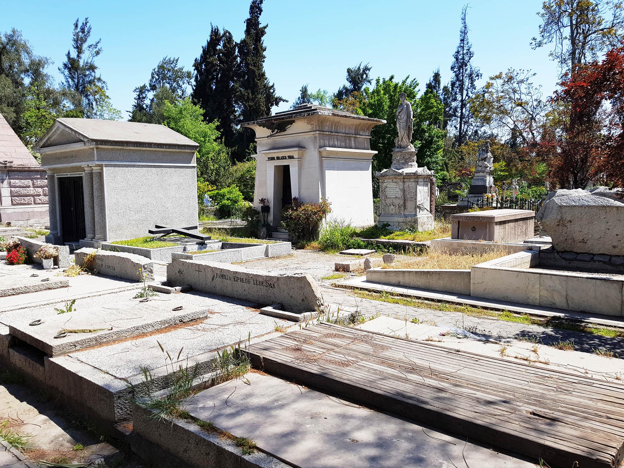 Dissidentenfriedhof in Santiago