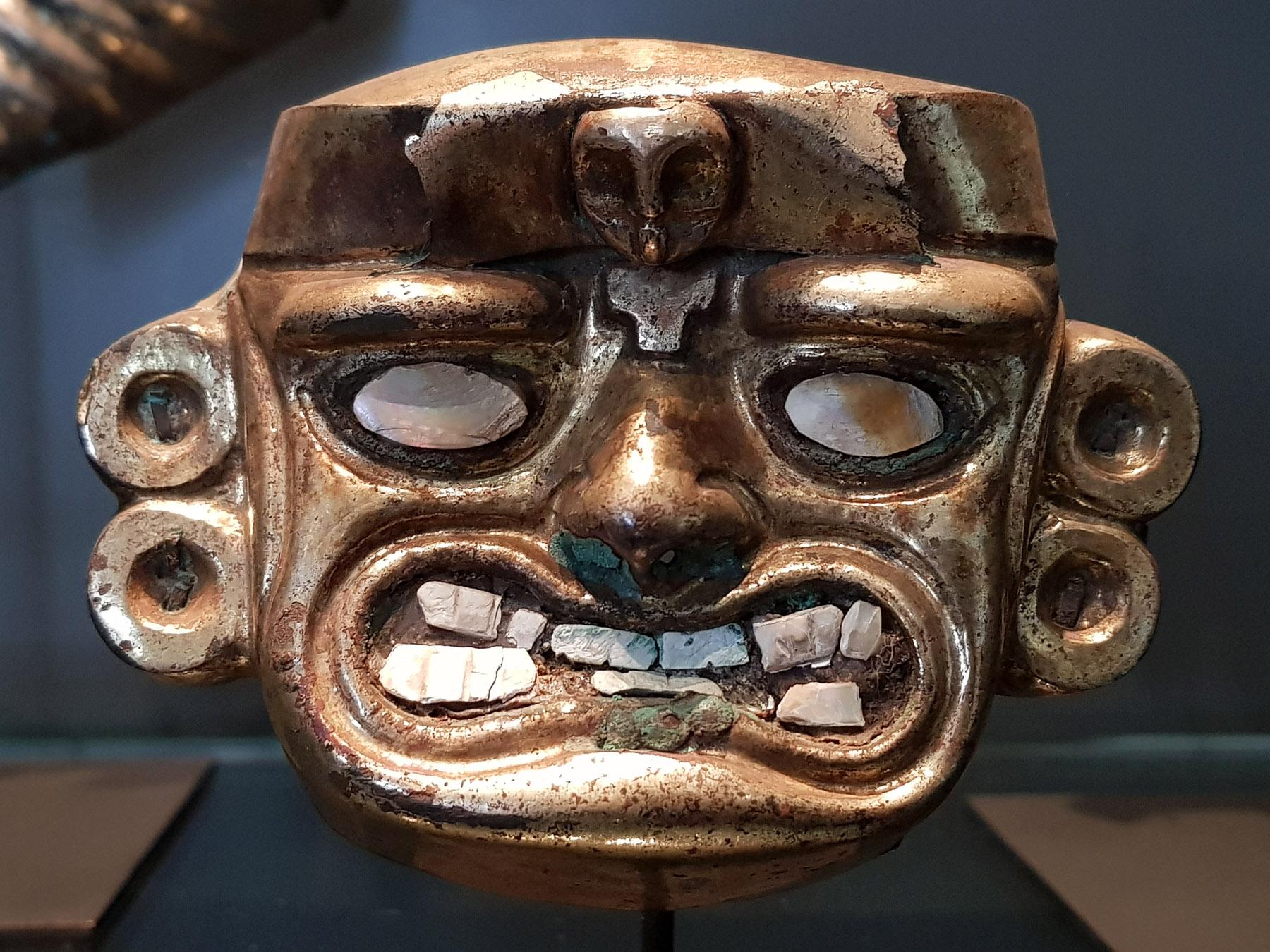 Santiago de Chile: Im sehr modernen, schönen Museo Chileno de Arte Precolombino