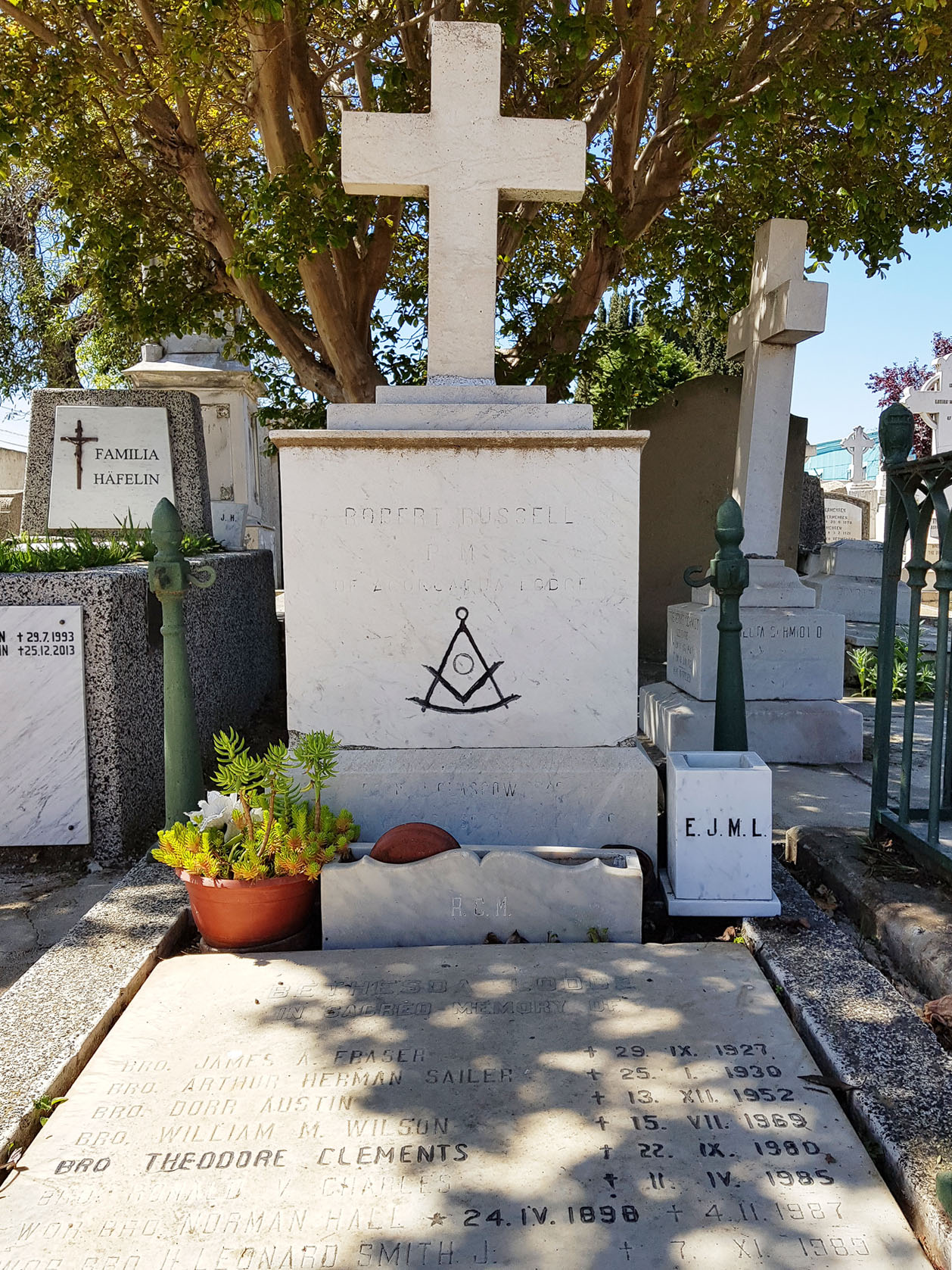 Am Dissidentenfriedhof Valparaiso wurden Juden, Freimaurer, Protestanten usw. begraben